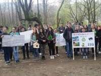 """FOTO - Elevii Liceului tehnologic """"Marmația"""" au participat la proiectul național """"Ocrotind natura ne ocrotim pe noi înșine"""""""