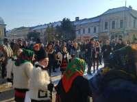 """FOTO: Evenimentul """"Hai să dăm mână cu mână"""" - Unirea Principatelor Române și Centenarul Marii Uniri marcate și la Sighet"""