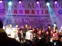 """FOTO - Festivalul de datini și obiceiuri """"Marmația"""" 2017 a debutat cu Parada formațiilor și concerte la scenă"""