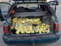 FOTO - Ţigări în valoare de 154.500 lei confiscate de către poliţiştii de frontieră