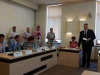 FOTO - În ședința de astăzi, 25 iunie 2016, s-a constituit Consiliul local al municipiului Sighet iar noul Primar Horia Scubli a depus jurământul