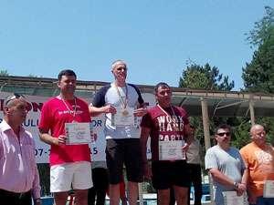 FOTO - Jandarm băimărean medaliat la Campionatul de înot al M.A.I.