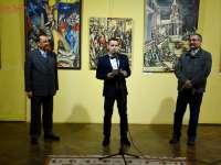 FOTO - Centrul Cultural Sighet: S-a deschis Expoziția pictorului Daniel Bozga