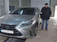 FOTO - Lexus, în valoare de 40.000 de euro, căutat de autoritățile din Italia, descoperit de polițiștii de frontieră