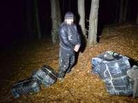 FOTO: MARAMUREȘ - 3.000 pachete de țigări de contrabandă confiscate de către polițiștii de frontieră