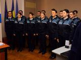 FOTO - MARAMUREȘ: Cei 33 de agenţi de poliţie încadrați din sursă externă au depus azi jurământul de credință