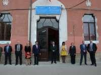 """FOTO: Ministrul de externe al Ucrainei a vizitat Liceul pedagocic ucrainean """"Taras Șevcenko"""" din Sighetu Marmației"""
