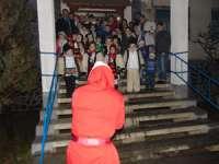 FOTO: Moș Crăciun a poposit și la Jandarmeria Maramureș. Primii vizitaţi au fost copiii jandarmilor sigheteni