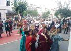 """FOTO - Paradă și spectacol de muzică și foc în prima zi de Festival """"Aeternus Maramorosiensis"""" și """"Floare de Colț"""""""