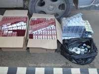 FOTO - Peste 11.000 pachete țigări confiscate la frontiera de nord