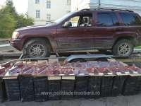 FOTO - Peste 23.000 pachete cu țigări confiscate la frontiera de nord