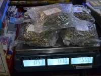 FOTO - Peste jumătate de kilogram de canabis, descoperit de polițiștii de frontieră
