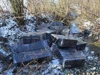 FOTO: PF SIGHET - 17.700 pachete de țigări de contrabandă, confiscate