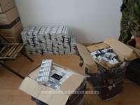 FOTO: Poienile de sub Munte - Peste 23.000 pachete țigări de contrabandă confiscate