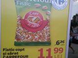 """FOTO - """"PROMOȚIE"""" la Carrefour în SIGHET: Mai scump, după ce a fost mai ieftin!"""