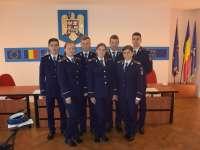 FOTO: Șapte absolvenţi şi-au început cariera de poliţişti la Inspectoratul de Poliţie al Judeţului Maramureş