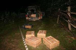 FOTO - Șase focuri de armă pentru prinderea contrabandiștilor