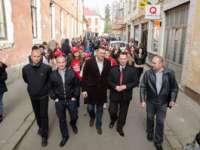 FOTO - SIGHET: Acțiune electorală a PSD pentru susținerea lui Victor Ponta la funcția de Președinte al României
