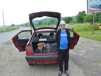 FOTO: SIGHET și SARASĂU - Țigări de contrabandă în valoare de peste 95.500 lei, confiscate de către polițiștii de frontieră