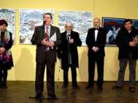 FOTO: SIGHET - Vernisajul expoziției Cenaclului de Pictură