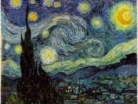 """FOTO: Tabloul """"Noapte înstelată"""" de Van Gogh, reprodus din patru milioane de sticle de plastic"""