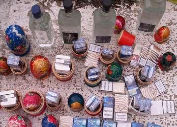 FOTO - Țigări de contrabandă ascunse în păpuși Matrioșka
