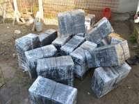 FOTO: Țigări de contrabandă confiscate la Sighetu Marmației, Sarasău și Bistra