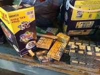 FOTO - Țigări de contrabandă în cutii de detergent, descoperite în P.T.F. Halmeu