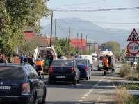 FOTO: TISA - Patru persoane transportate la spital în urma unui accident rutier