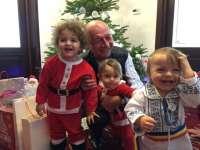 FOTO - Traian Băsescu și-a petrecut Crăciunul alături de nepoți