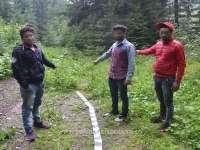 FOTO - Trei cetățeni indieni, opriți la frontiera de nord a țării