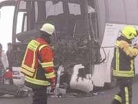 FOTO - Un autocar românesc a fost implicat într-un grav accident în Germania. Sunt nouă victime