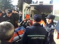 """FOTO - Un bărbat a fost dus cu ambulanța la spital după ce s-a luat la bătaie cu un călăreț la Festivalul """"Marmația"""""""
