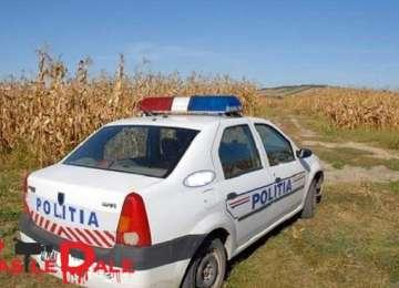 FOTO - Urmărire în trafic cu focuri de armă și droguri descoperite de polițiștii maramureșeni