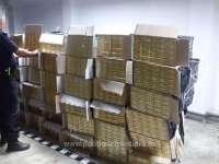 FOTO & VIDEO - 21.000 de pachete cu țigări, confiscate la frontiera de nord