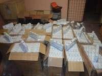 FOTO & VIDEO - Aproximativ 12.500 pachete de ţigări de contrabandă, descoperite în mai multe autoturisme