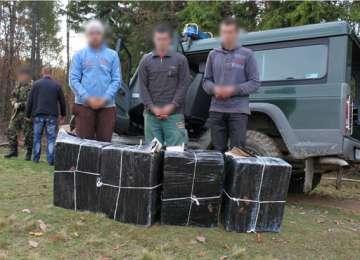 FOTO + VIDEO: Ţigări de contrabandă depistate la frontieră