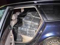 FOTO & VIDEO - Ţigări în valoare de 240.000 lei confiscate de Poliția de frontieră