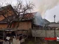 FOTO & VIDEO - Incendiu în Ieud, în apropiere de Primărie
