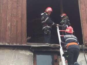 "FOTO + VIDEO - Incendiu la Brutăria ""SigPan"" din Sighet"