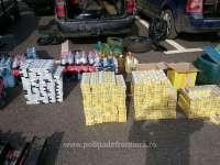 FOTO & VIDEO - Țigări de contrabandă ascunse în roţi de rezervă, banchete, caroserii dar și în canistre de plastic