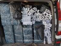 FOTO & VIDEO - Țigări în valoare de peste 296.000 lei, confiscate la frontiera de nord