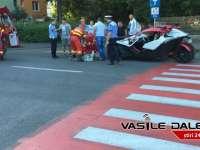FOTO & VIDEO - Un bătrân a fost lovit pe o trecere de pietoni din Baia Mare