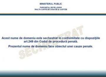 FOTO + VIDEO: www.serialepenet.ro a fost închis de către procurori