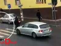 FOTO: VIȘEU DE SUS - A acroșat o femeie pe trecerea pentru pietoni, dar a plecat fără să-i pese