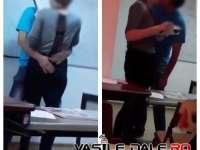 FOTO&VIDEO - CAZ REVOLTĂTOR ÎN SIGHET - Un profesor de engleză sărută cu foc o elevă de clasa a IX-a