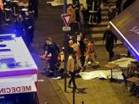 FRANȚA, ÎN STARE DE ȘOC. Val de atentate, luare de ostatici: 153 de morţi