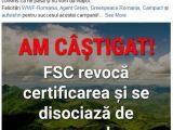 FSC retrage DEFINITIV certificarea Schweighofer și se disociază de compania autriacă, din cauza defrișărilor ILEGALE