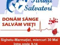 """Fundația """"Părinți Salvatori"""" organizează o campanie de donare de sânge la Sighetu Marmației"""