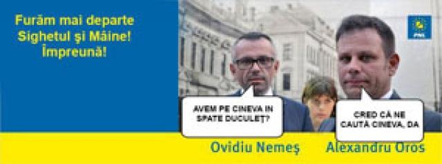 FURĂM MAI DEPARTE SIGHETUL ȘI MÂINE - Noul slogan de campanie, dublat de înjurături și calomnii prin intermediul FaceBook